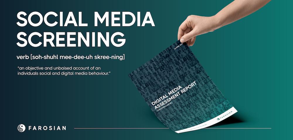 Image of Social Media Screening